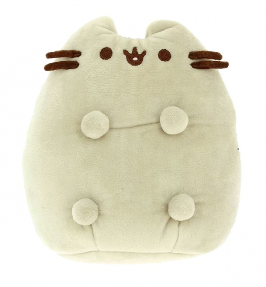 Pusheen 3D Plush Heatie Grey