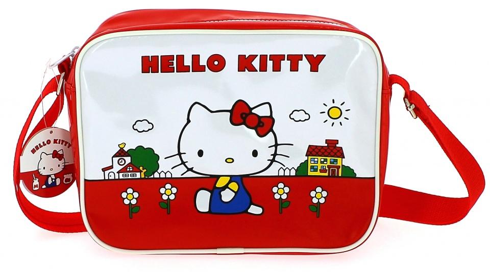 Blueprint Collections schoudertas Hello Kitty 3,4 liter rood