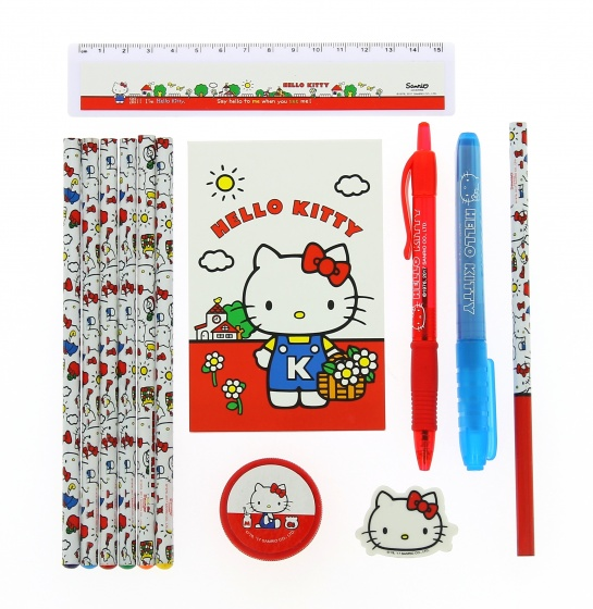 Blueprint Collections schrijfset Hello Kitty 8 delig
