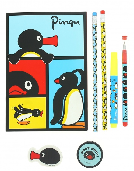 Blueprint Collections schrijfset Pingu 6 delig