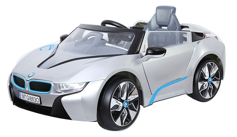 Accu voertuig BMW I8 Zilver
