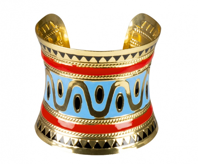 Boland armband Flow of the Nile dames goud