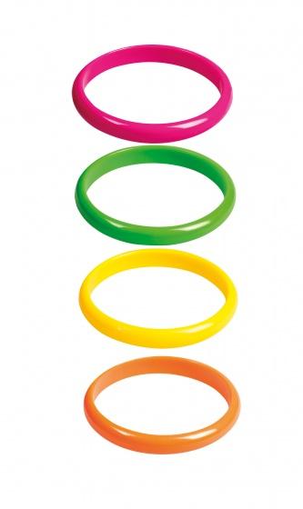 Set 4 Armbanden Rave IV