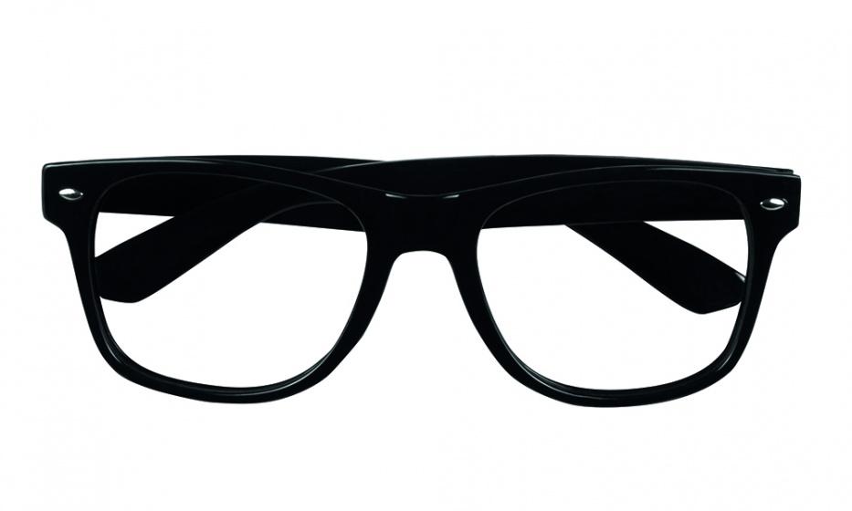 Boland partybril zonder glazen unisex zwart kopen