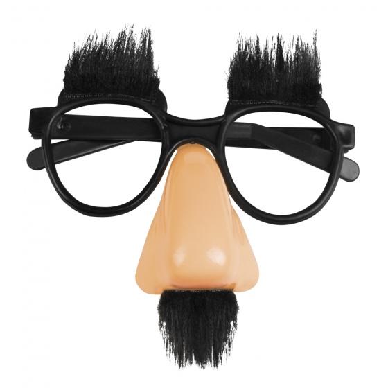 Boland Feestbril Slapstick unisex zwart kopen