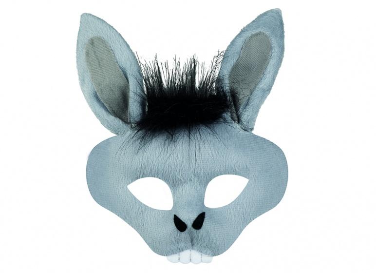 Boland halfmasker pluche dieren ezel