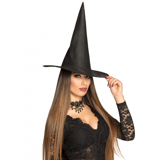 witch hat Ursulagirls 55 cm polyester/steel black