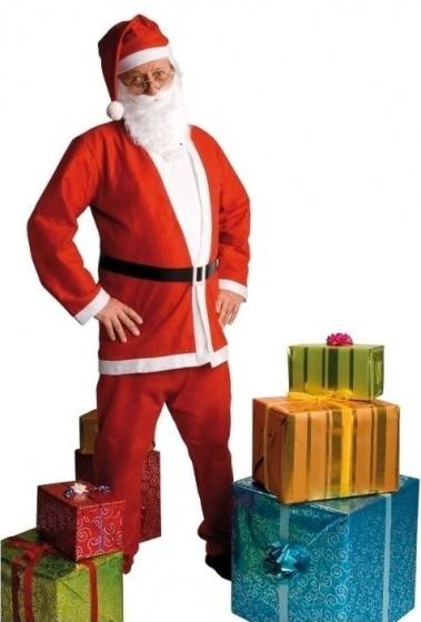 Volwassenenkostuum Kerstman promo (M-L)