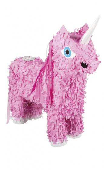 Boland piñata meisjes eenhoorn roze 47 x 39 cm