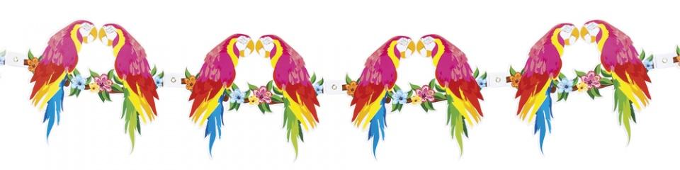 Boland slinger Hibiscus papegaai 300 cm