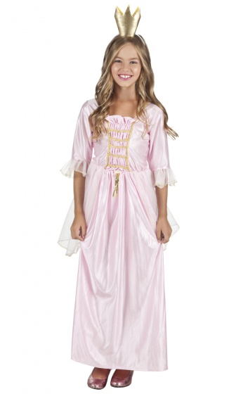 Boland verkleedjurk dream prinses meisjes roze 225038