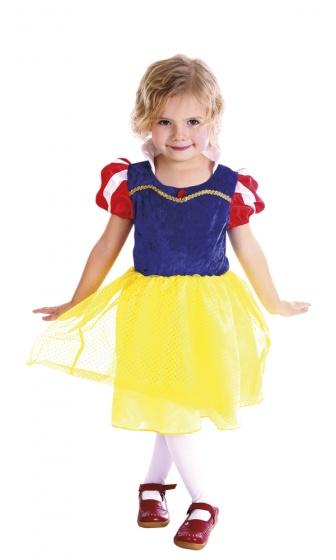 Boland verkleedjurk prinses pearl meisjes geel 225106