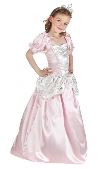 Boland verkleedjurk prinses rosabel meisjes roze 225049