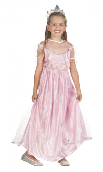 Boland verkleedpak beauty prinses meisjes roze 225021