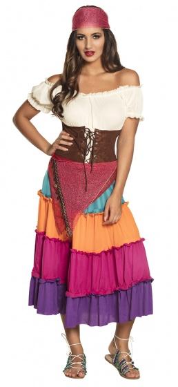 Boland verkleedpak Gypsy Nadya dames maat 40/42