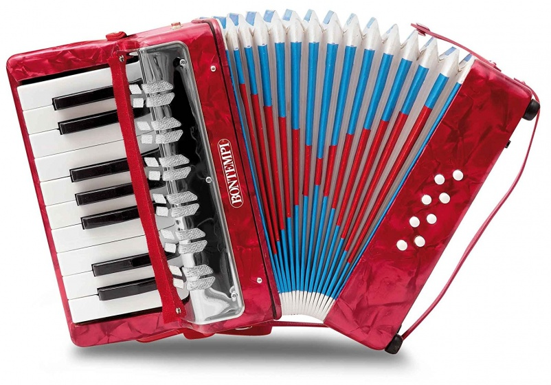 Bontempi Accordeon Rood