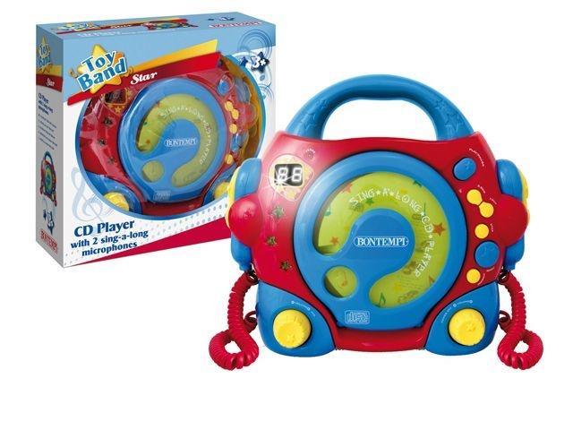 Bontempi CD Speler Met Microfoon