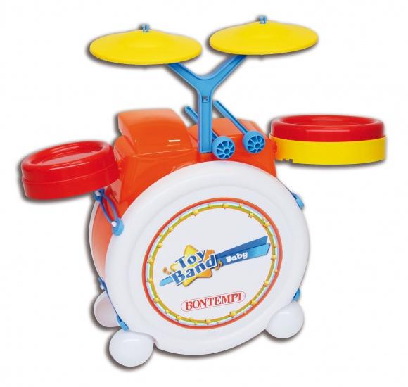 Bontempi Drumset Toyband Oranje Geel