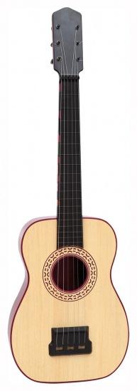 Bontempi gitaar spaans 6 snaren lichtbruin 60 cm