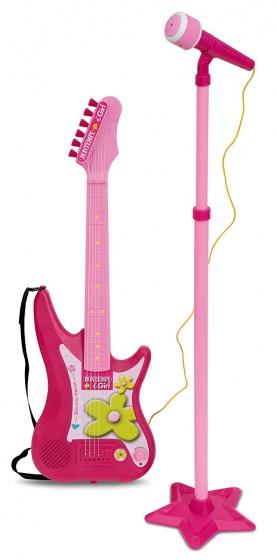 BON Elec. Guitar+Amplifier & Stand Micro