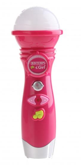 Bontempi iGirl karaokemicrofoon roze 20 cm