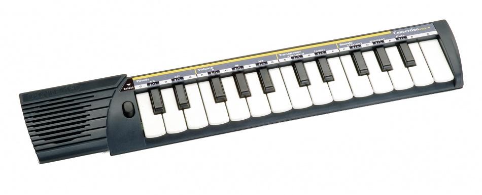 Bontempi Keyboard Concertino 25 toetsen Zwart 40 cm