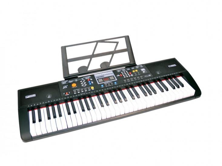 Bontempi keyboard digitaal 61 toetsen zwart