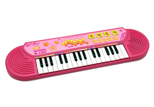 Bontempi Keyboard Elektronisch Roze