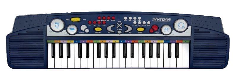 Bontempi Keyboard Blauw 53 cm