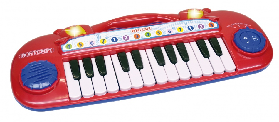 Bontempi Keyboard Elektronisch Rood