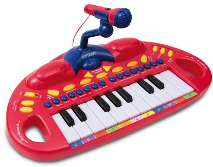 Bontempi elektronisch toetsenbord met microfoon
