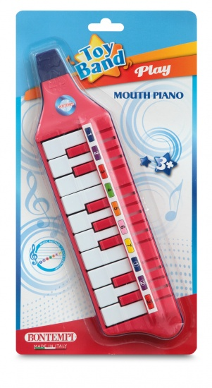 Bontempi Mondpiano Toy Band Rood
