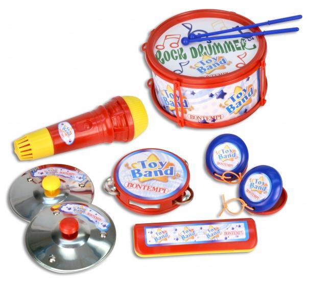 Bontempi Muziekset Toy Band 10 delig