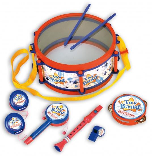 Bontempi Muziekset Toy Band 9 delig