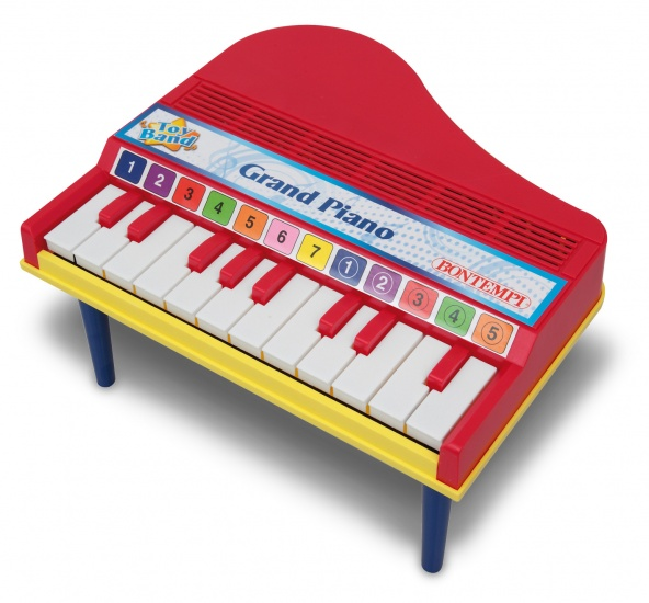 Bontempi Piano Toy Band 12 toetsen Rood