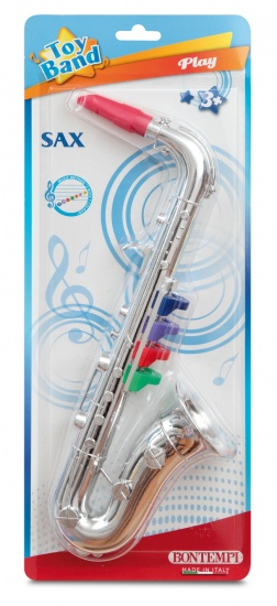 Bontempi Saxofoon Toy Band Zilver