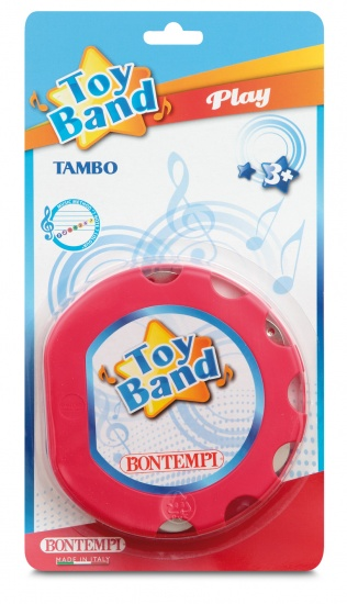 Bontempi Tamboerijn Toy Band Rood