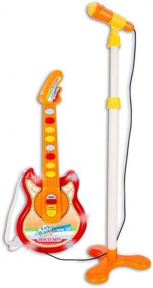 Bontempi baby rockgitaar met staande microfoon