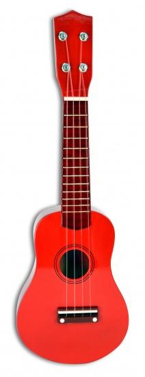 Bontempi Ukulele Gitaar Rood 52,5 cm