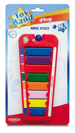 Bontempi Xylofoon Toy Band Rood
