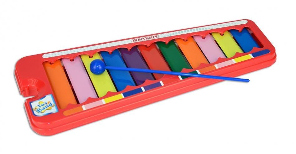 Bontempi Xylofoon Toy Band Rood 34 cm