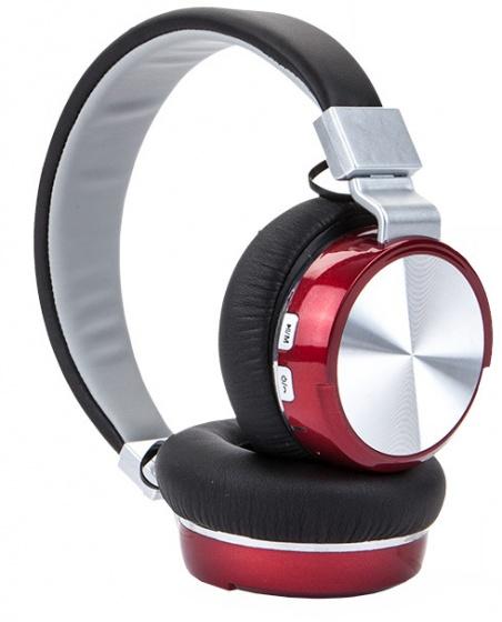 Sound republik deluxe koptelefoon bluetooth wireless rood
