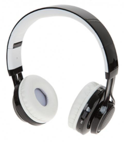 Boom deluxe koptelefoon on ear dancing lights wireless wit