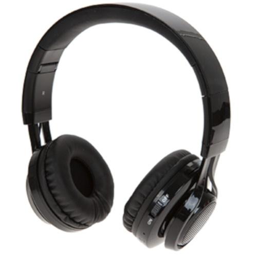 Boom deluxe koptelefoon on ear dancing lights wireless zwart