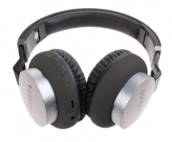 Boom koptelefoon on ear wireless Bluetooth zwart