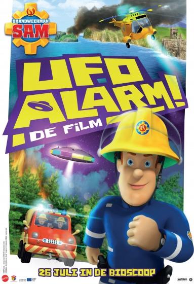 Brandweerman Sam DVD UFO Alarm! de film