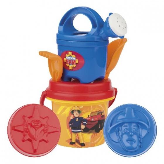 Brandweerman Sam emmerset 7 delig blauw/oranje