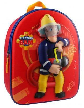 Brandweerman Sam rugzak Hero of the Storm 3D 31 x 25 x 12 cm