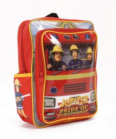 Brandweerman Sam Rugzak rood 32 x 24 x 14 cm