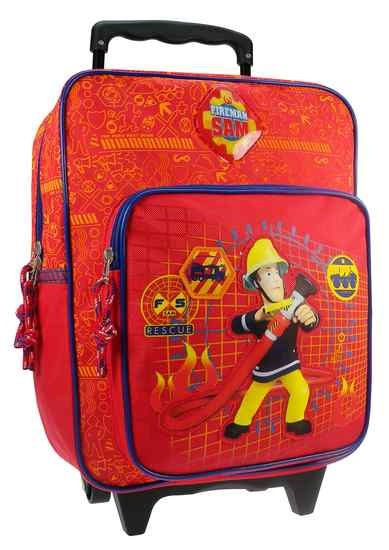 Brandweerman Sam Trolley rugzak to the rescue 35 x 25 x 12 cm